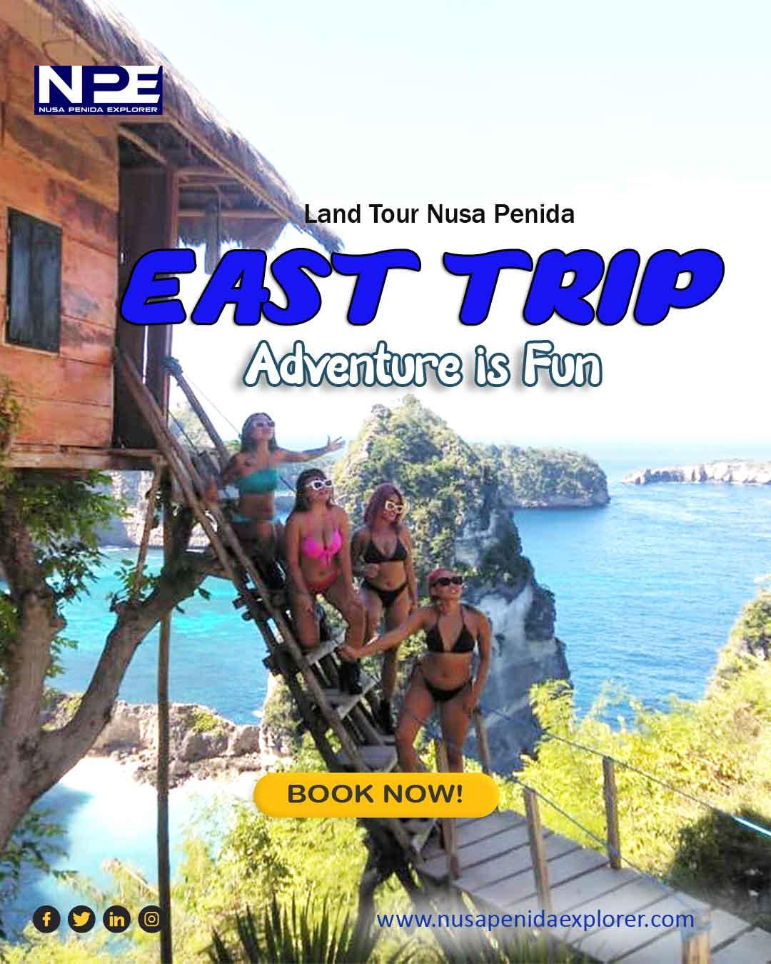 Paket Day Trip Land Tour Nusa Penida Timur